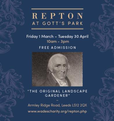Repton at Gotts advert