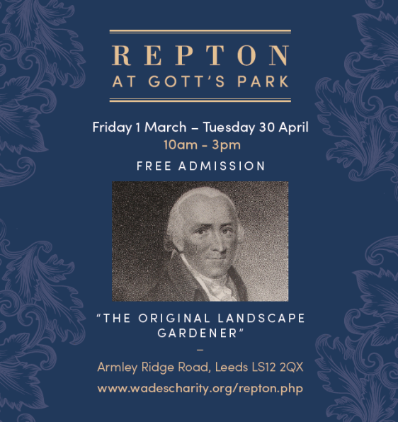Repton at Gotts advert